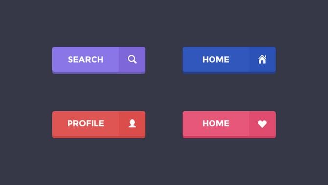 Кнопки для сайта онлайн за пять минут