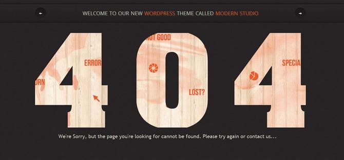404 ошибка на WordPress