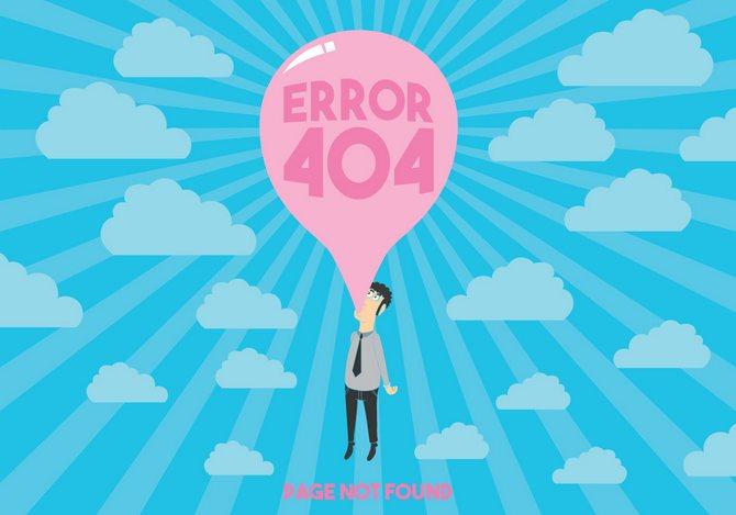 Что значит ошибка 404?