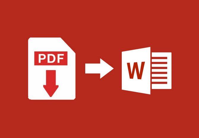 Как преобразовать PDF в Word - онлайн и оффлайн конвертер