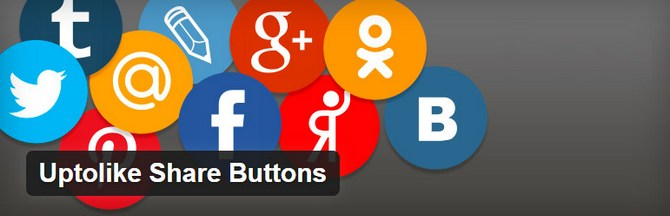 Uptolike Social Share Buttons